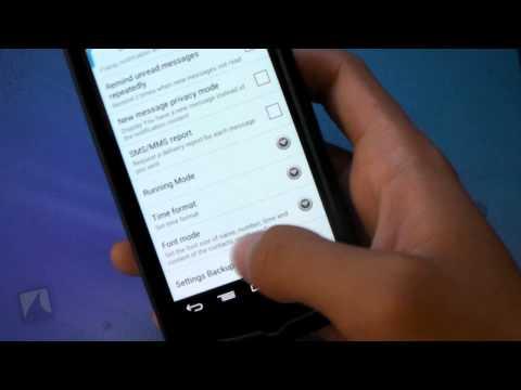 Go SMS Pro By Go Dev Team | Droidshark.com Video Review For Android