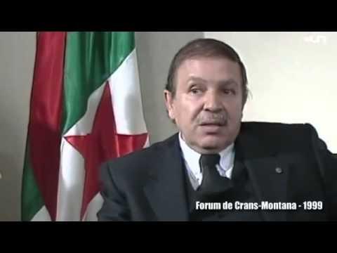 Bouteflika au forum de Crans Montana   l Algérie, c est moi  1