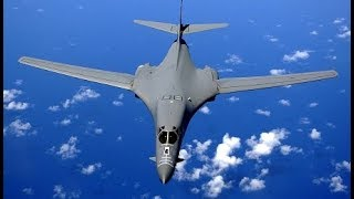 TRUMP SENDS DEADLY MESSAGE to North Korea with US Military B-1 Military Aircraft
