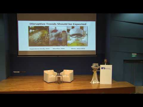 """IPS- Nathan Lecture II - """"Risk & Resilience, Imagination & Innovation"""" by Mr Peter Ho"""