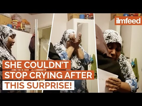 She Couldn't Stop Crying After Being Surprised With A FREE Trip To Makkah!