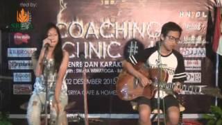 Marsya and Friends 'Cinta dan Rahasia' on Coaching Clinic #4 at Sriya Cafe and Homestay Jepara