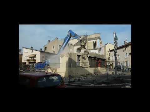 VIDEO Moulins Lès Metz Le Rond Point La Fin