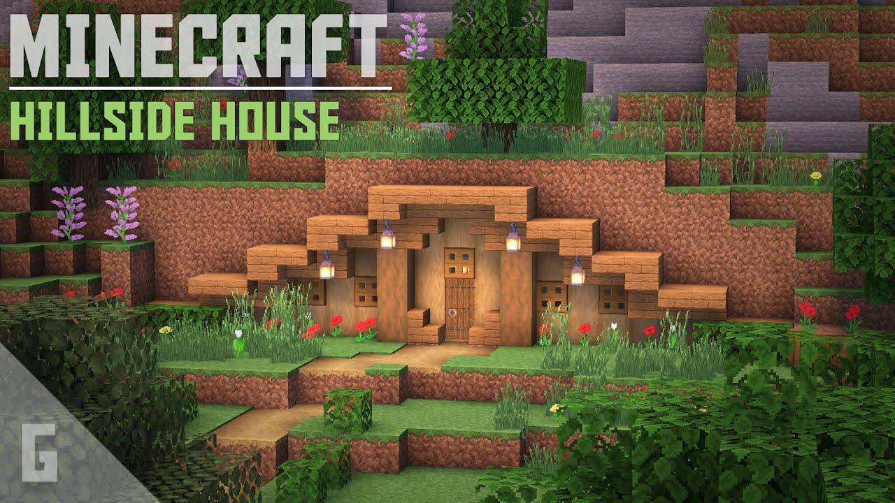 Minecraft: Hillside House Tutorial!