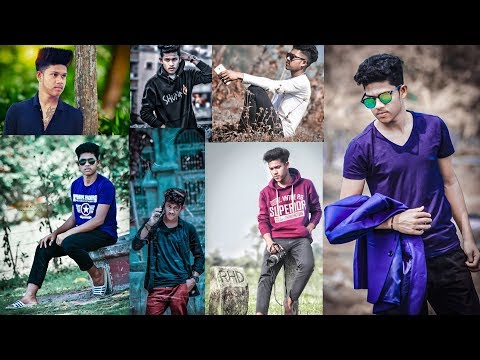 facebook style pose photography tutorial in bangla thumbnail