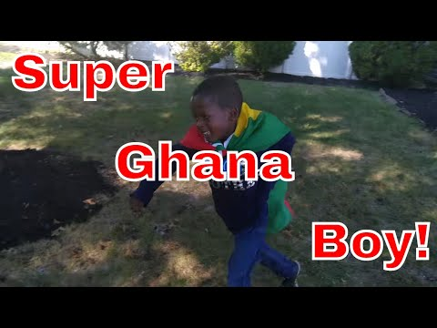 Super Ghana Boy To The Rescue!