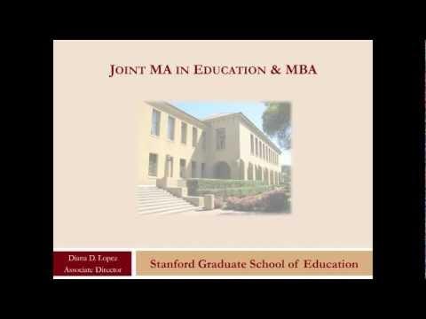 Joint MA/MBA Informational Webinar