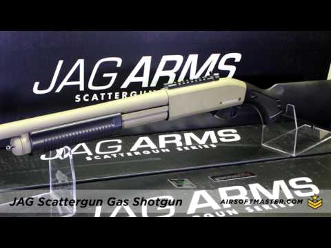Jag Arms Scattergun Gas Shotgun Quick Review With CQB Russian And Airsoft Master