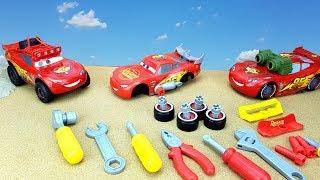 МОЛНИЯ МАККВИН Тачки - 3 Распаковка машинки - конструктора Видео для детей и сборка игрушки Toys Car