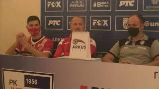 ARKUS liga 6. kolo / Jugović - Crvena Zvezda / Izjave aktera meča nakon utakmice