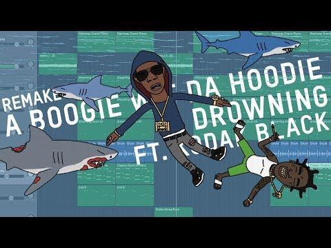 Making a Beat: A Boogie Wit Da Hoodie  Drowning ft Kodak Black