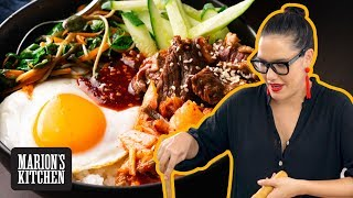 My easy Korean beef rice bowl you can make any night of the week | Beef Bibimbap | Marion's Kitchen