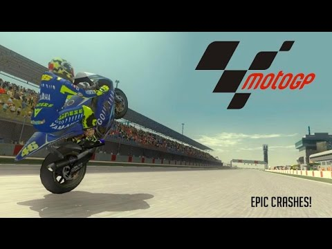 MotoGP 3 URT Worst Crashes! - YouTube