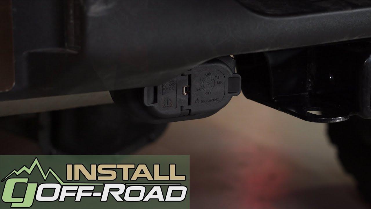 Jeep Wrangler Jl Gets Tow Ready Mopar 7 Way Trailer