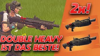 ACTION MACTION MIT DOUBLE HEAVY PUMP! | Fortnite