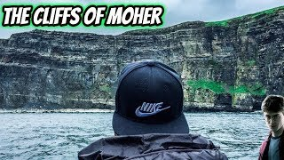 THE CLIFFS OF MOHER - From the Sea (Harry Potter Horcrux Cave)