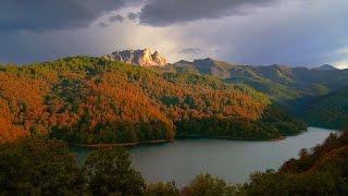 Lake Göygöl. Озеро Гёйгёль. Göygöl.