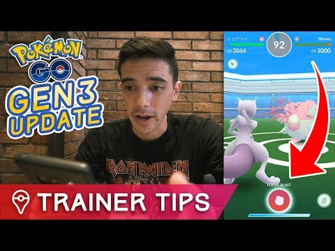 Download Youtube: POKÉMON GO UPDATE IS LIVE - BATTLE UPDATE, NEW ITEMS, GEN 3 MOVES + MORE
