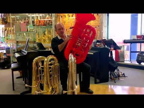 Yamaha Bond and Cool Wind Tuba Review Engadine Music