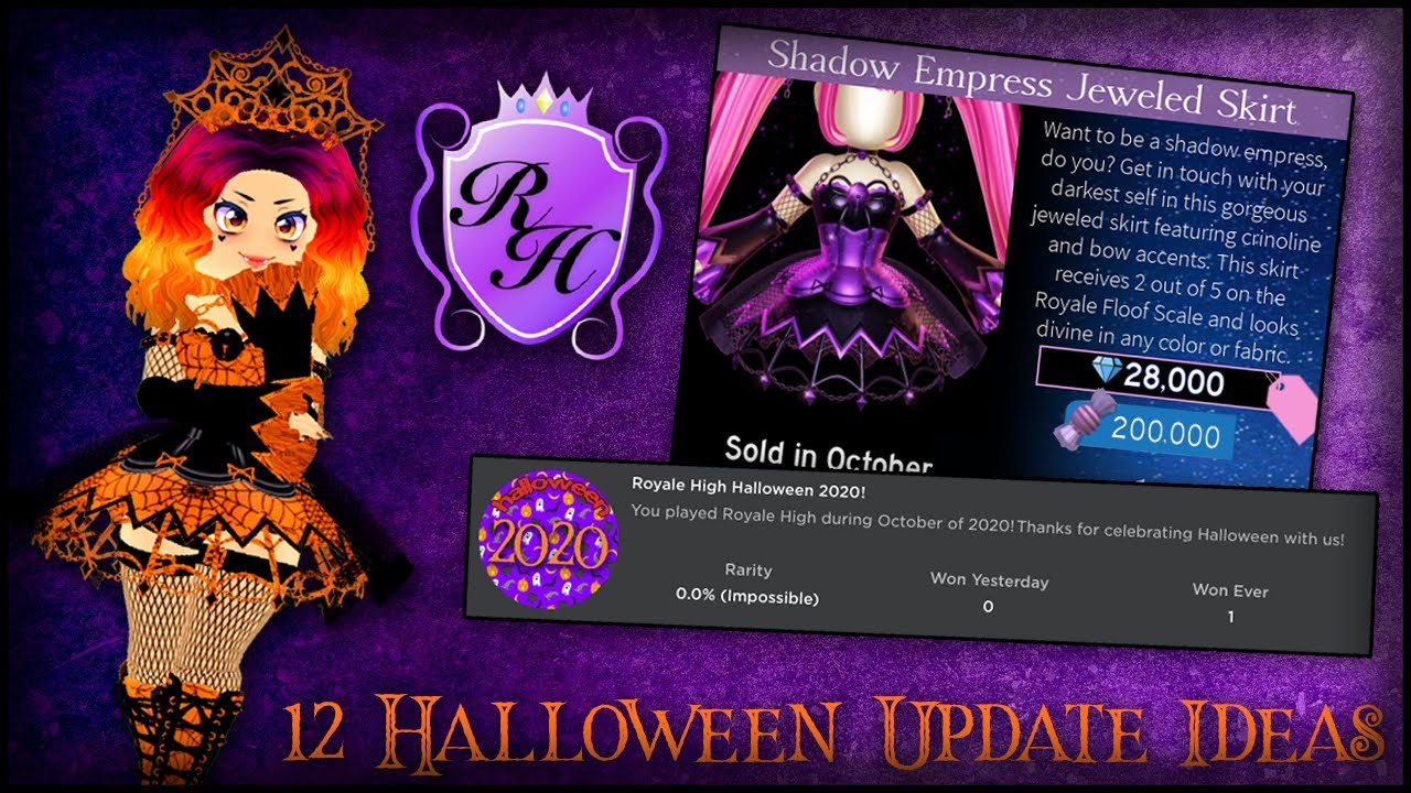 Halloween Updates 2020 12 Features We Might See in the Royale High Halloween Update 2020