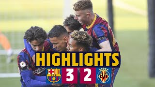 ⚽ HIGHLIGHTS | Barça B 3-2 Villarreal B | Hard-fought victory 💪🔥