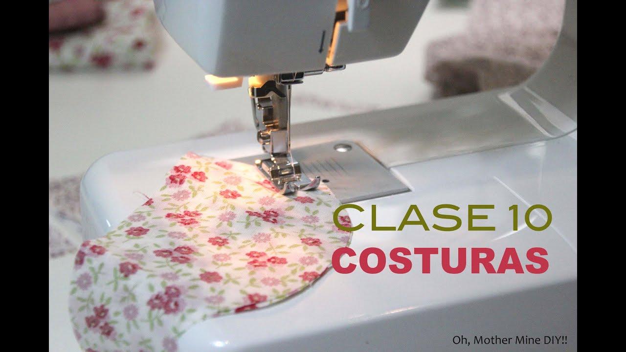 Clase costura 10 Comenzar a coser a mquina  YouTube