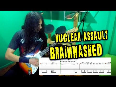 Nuclear Assault - Brainwashed [Cover] + Tabs