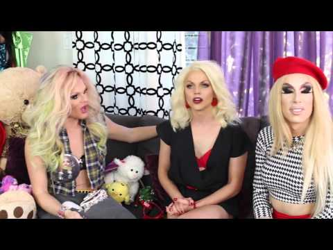 AAA Girls Holiday Special Part One with Willam and Courtney