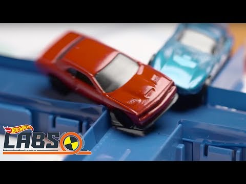 Collision Course | Hot Wheels Labs | Hot Wheels