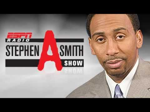 Sports Rants – Stephen A Smith frustrated with a New York caller