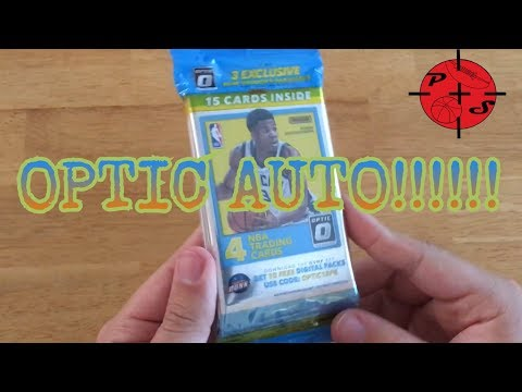 OPTIC AUTOGRAPH!! 2017-18 Panini Optic Value Hanger pack Basketball Cards Opening!