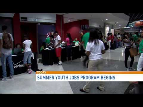 D.C. summer jobs begins