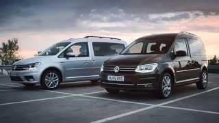 Volkswagen New Caddy 4 promo - 2015
