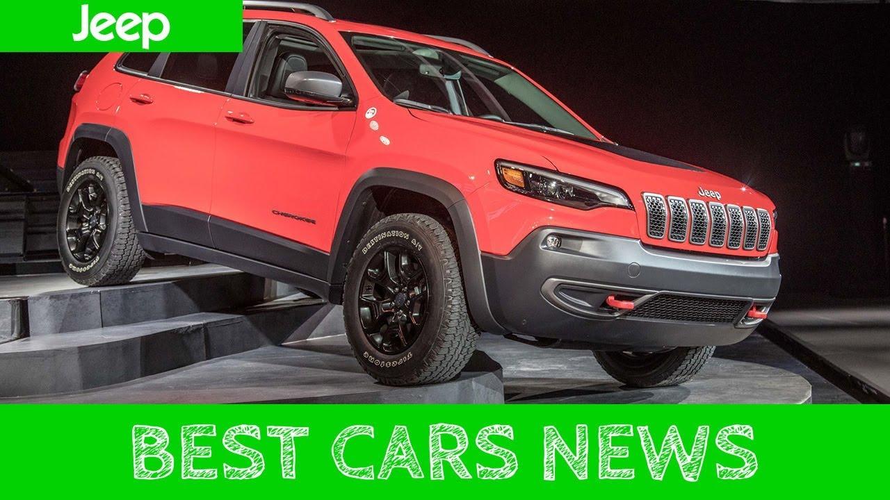2019 Jeep Cherokee Optional Turbocharged 4 Cylinder Engine