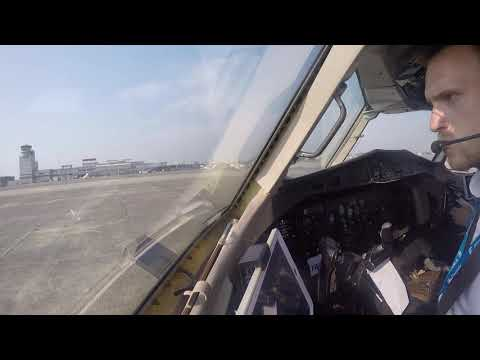 Nice Take-Off ATR 42 Ostend-Bruges Airport BELGIUM