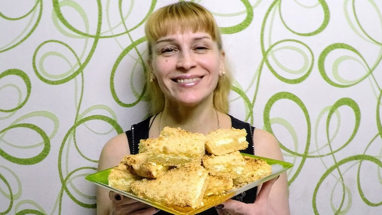 пирог творожный вкусный фото рецепт в духовке