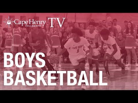 CHC V Boys Basketball vs Green Run High School 12/19/19