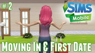 The Sims Mobile | Moving in & First Date #2