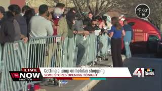 Some stores opening Thanksgiving night