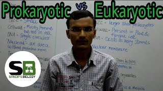 Difference between Prokaryotic & Eukaryotic Cells | Cell Biology