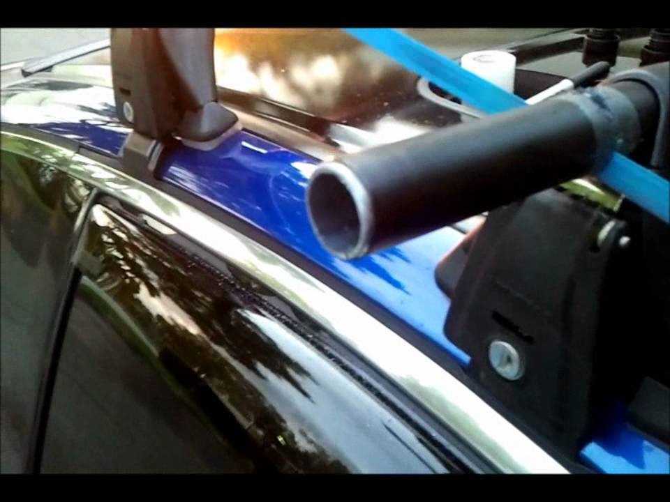 Diy Cutting Yakima Crossbars To Fit Car Better Youtube