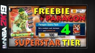 SUPERSTAR TIER   Freebie + 4 Paragon Packs   Rivals Clash Preview SUNS   MYNBA2K19