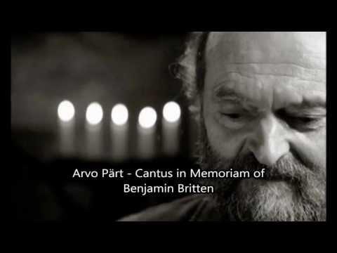 Arvo Pärt - Cantus in Memoriam of Benjamin Britten - Staatsorchester Stuttgart/Dennis Russell Davies