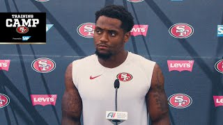 Trent Sherfield on First Training Camp in SF | 49ers