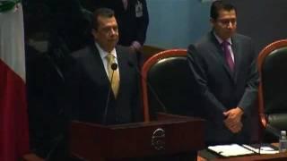 TOMA PROTESTA COMO GOBERNADOR DE GUERRERO ANGEL AGUIRRE RIVERO