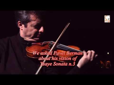Masterclass Pavel Berman Ysaÿe Sonata No. 3