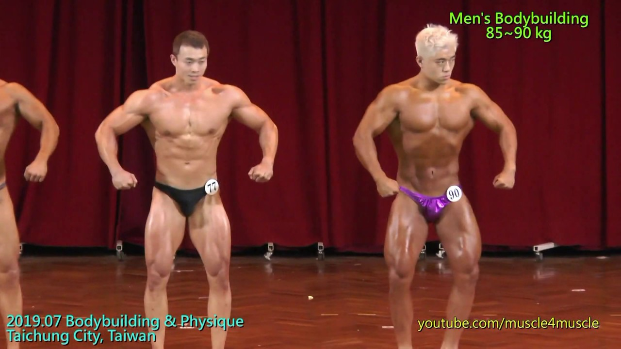 健美 201907 Bodybuilding & Physique in Taichung, Taiwan - Men's Bodybuilding  85~90 kg