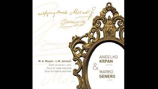Wolfgang Amadeus Mozart: Duo for Violin and Viola in G major - Anđelko Krpan, Marko Genero