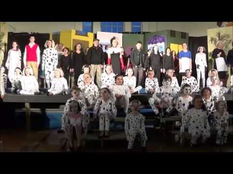 University School 101 Dalmatians play - 09.05.15