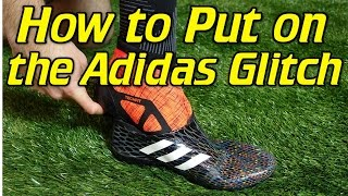 How To Put On the Adidas Glitch - Tutorial b094a270ee